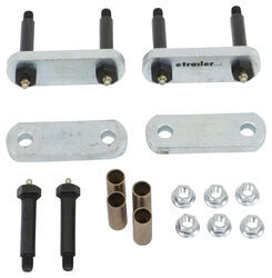 Dexter Heavy Duty Suspension Upgrade Kit for Single Axle Trailers - Double Eye Springs
