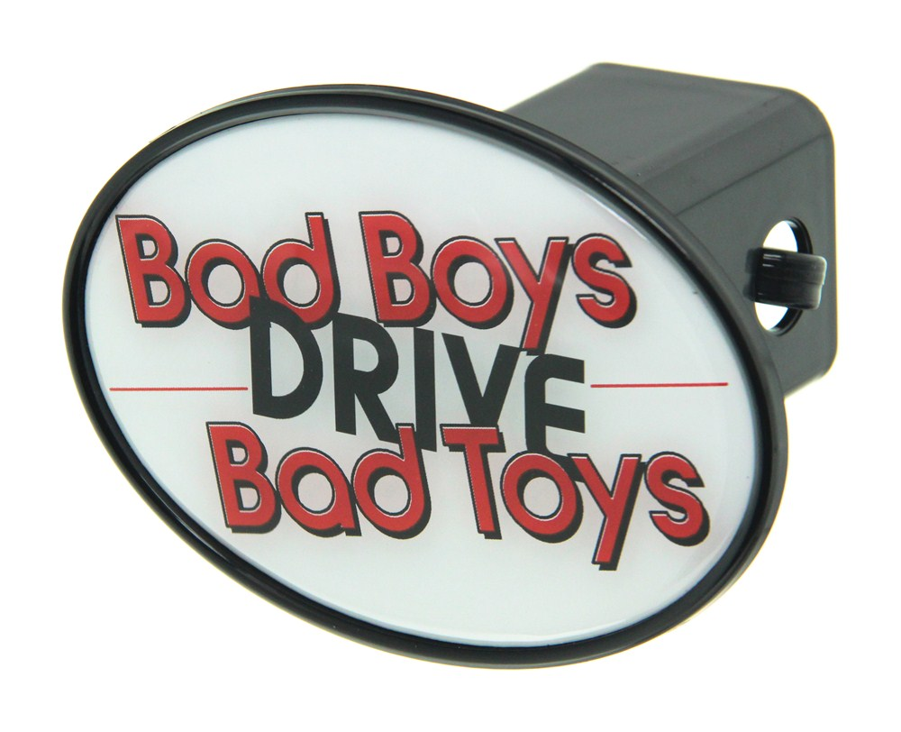 Bad Boy Toys : Bad boys drive toys quot trailer hitch receiver cover