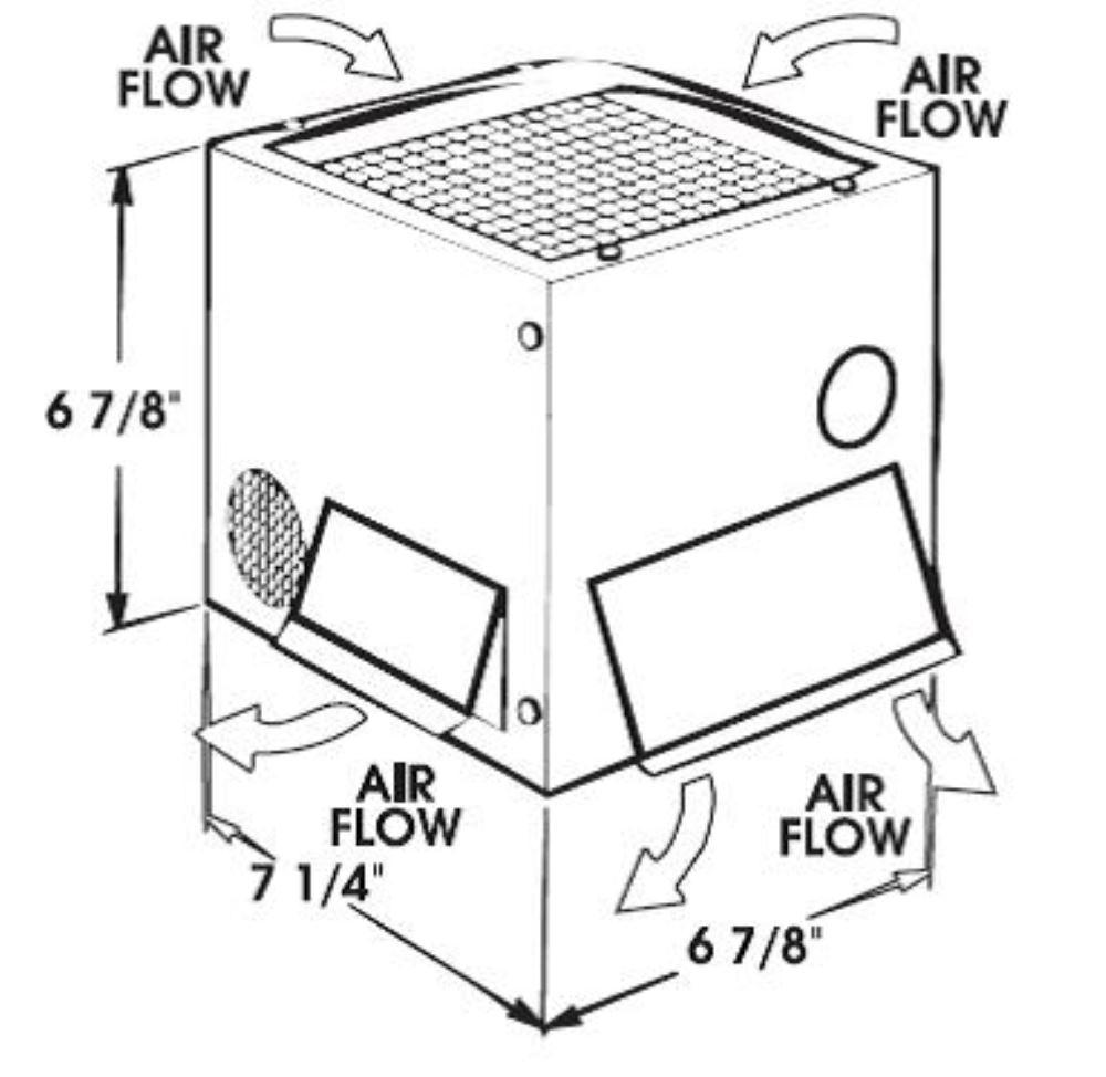 Vehicle Heaters KH38500 - 12500 Btu - Kats Heaters