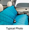 covercraft seat covers  pet pad bench protector - navy blue