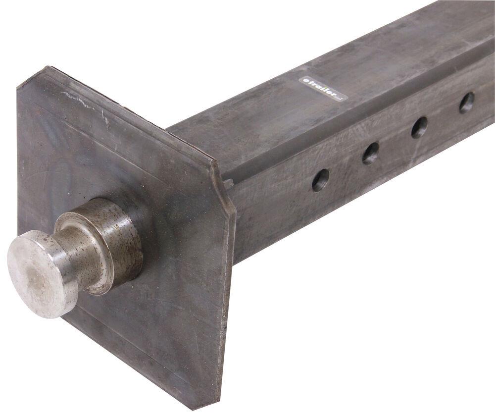 Gooseneck to th wheel trailer coupler adapter inner