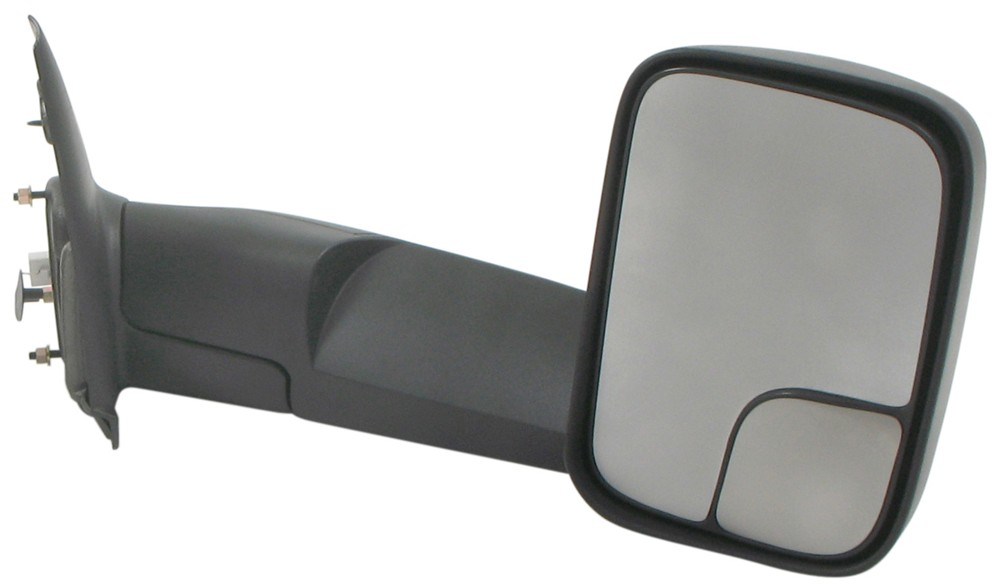 K Source Custom Flip Out Towing Mirrors Electric Heat Textured Black Pair Ks60113 114c