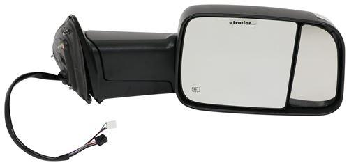 2019 Ram 1500 Classic K Source Custom Flip Out Towing Mirror Electric Heat W Signal Lamp Textured Black Passenger