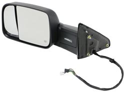 K-Source Custom Flip Out Towing Mirror - Electric/Heat w Signal, Lamp, Power Fold - Driver