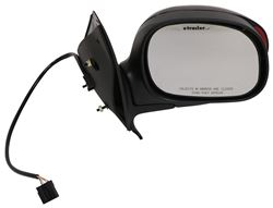 K Source Replacement Side Mirror Electric W Turn Signal Black Penger