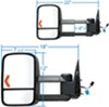 KS62075-76G - Electric K Source Custom Towing Mirrors