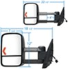 K Source Custom Fit Custom Towing Mirrors - KS62093-94G