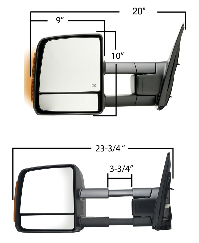 Compare K Source Custom Vs Tekonsha Prodigy 1982 Ford F150 Vehicleswiring Diagram For The Ign Ks70103 04t Fit Towing Mirrors