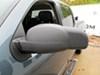 Custom Towing Mirrors KS80900 - Non-Heated - K Source on 2013 Chevrolet Silverado