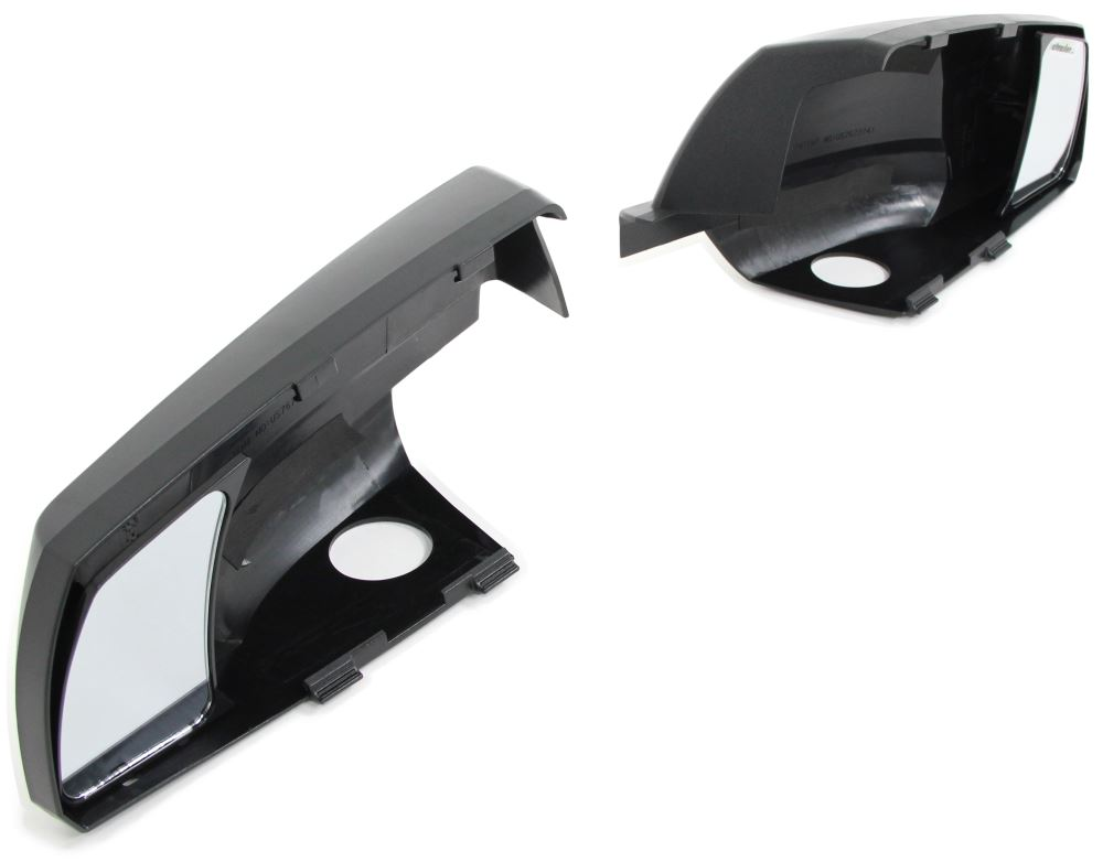 K-Source Snap & Zap Custom Towing Mirrors - Snap On - Driver and Passenger Side Fits Driver and Passenger Side KS81300