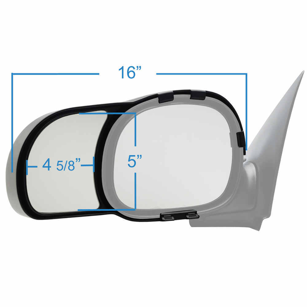 ford    source snap zap custom towing mirrors snap  driver  passenger side