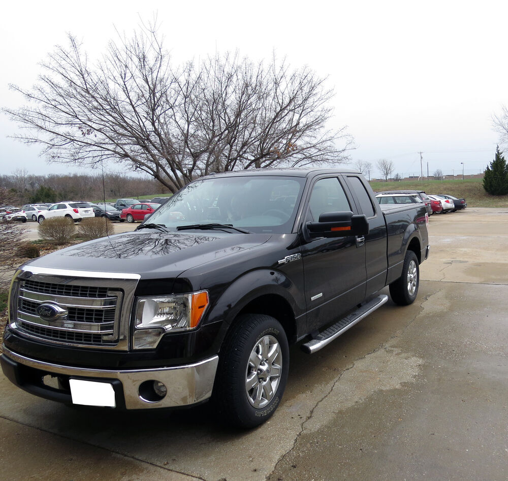 2013 Ford F-150 K-Source Snap & Zap Custom Towing Mirrors