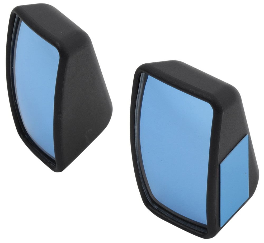 k source custom blind spot mirrors w optical blue lenses. Black Bedroom Furniture Sets. Home Design Ideas