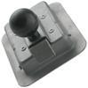 """Junior"" Locking Steel Flush Door Latch with Inside Release 2-3/4 x 3-3/4 Inch Hole L1930"
