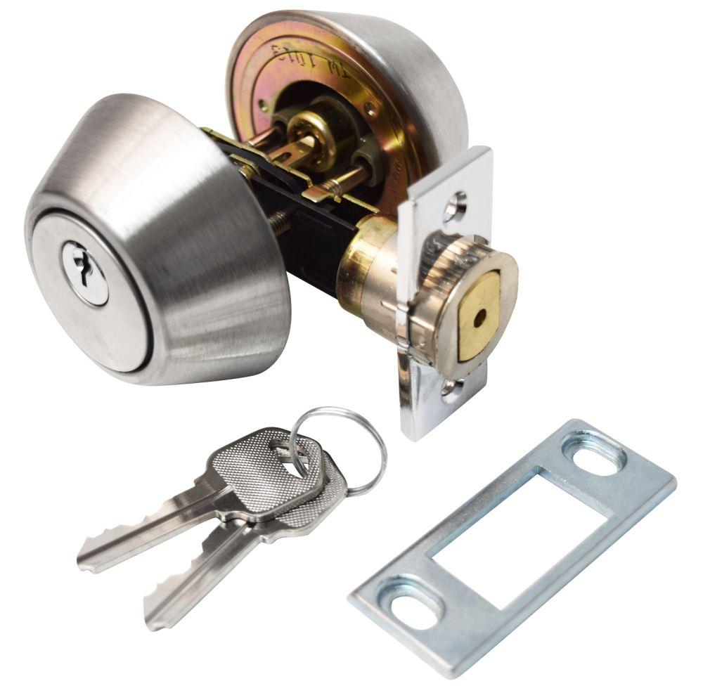 Valterra Deadbolt Lock For Rvs Double Cylinder