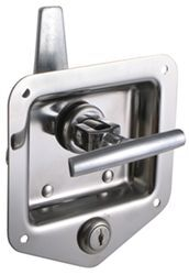T-Handle Locking Stainless Steel Flush Door Latch