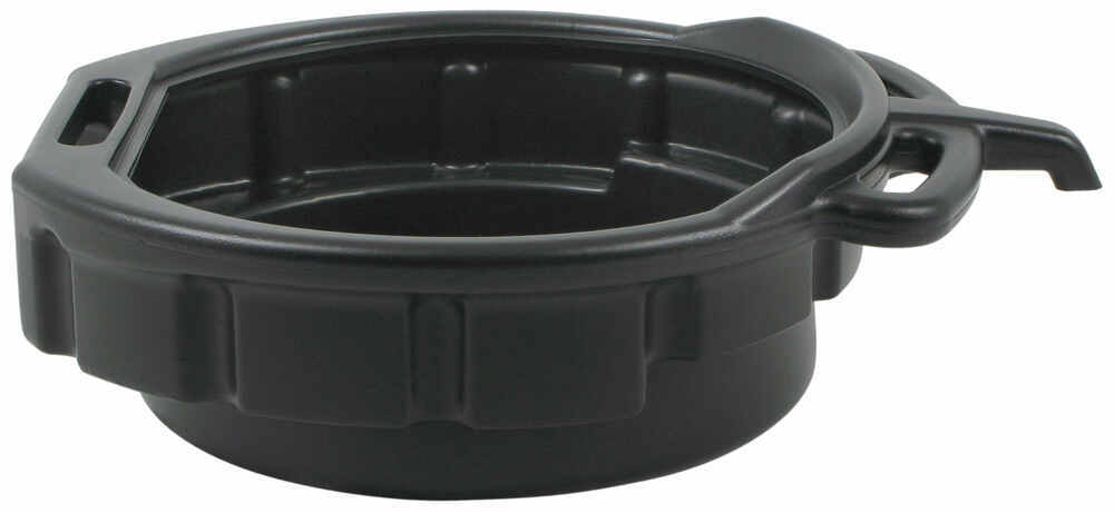 Plastic Oil Draining Pan With Pouring Spout 4 Gallon