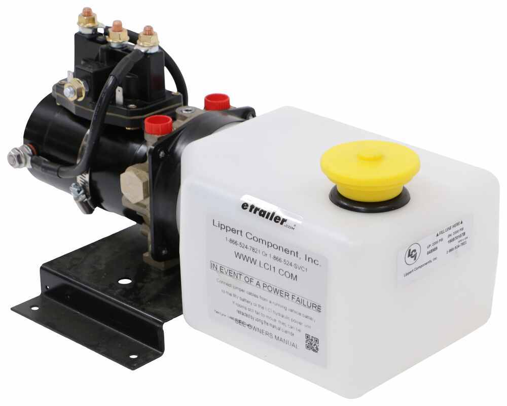 Lippert Replacement Hydraulic Power Unit with 2-Quart Pump