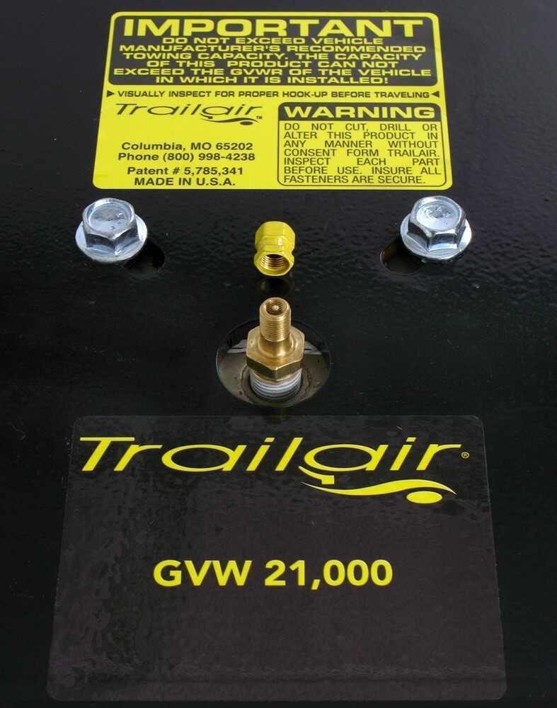 Compare Trailair Flex Air Vs Ride Diagram For Replacing 5th Wheel Hitch Head Spring Etrailercom Lippert Components Pin Box Upgrade Lc158778