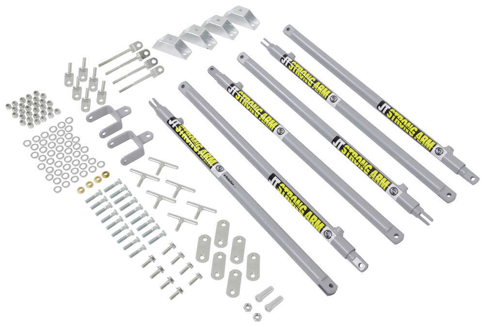 lippert components jt u0026 39 s strong arm jack stabilizer kit