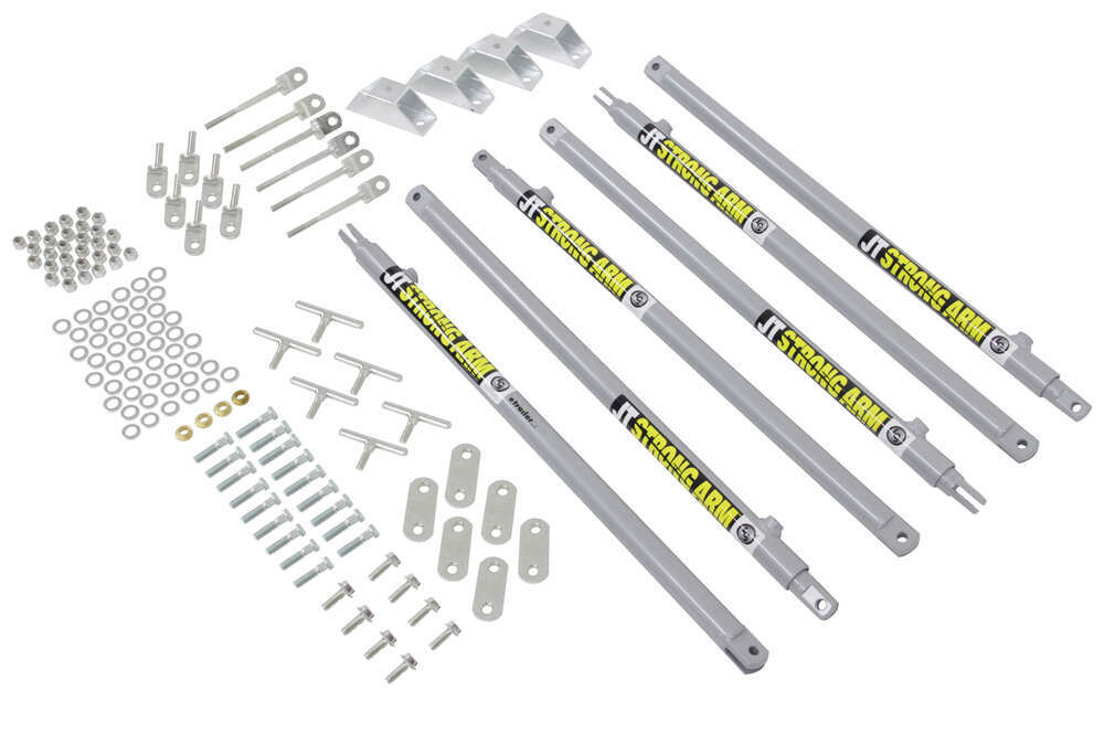 JT's Strong Arm Jack Stabilizer Kit for Travel Trailers Lippert