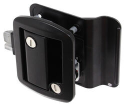 Global Link RV Entry Door Locking Latch Kit with Keyed Alike Option - Black