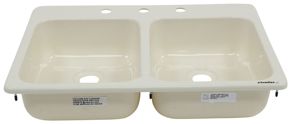 Better Bath Double Bowl Rv Kitchen Sink 24 5 8 Quot Long X