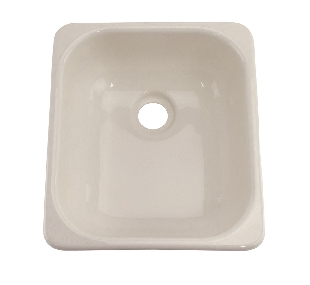 Better bath 15 1 2 x 12 3 4 square galley kitchen sink for The galley sink price