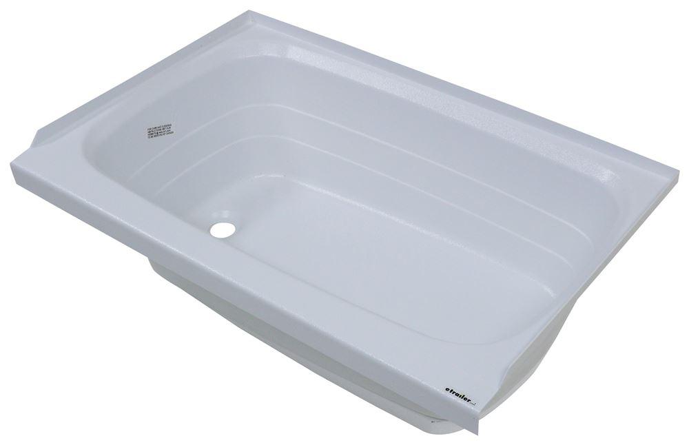 Better Bath Rv Bathtub Left Hand Drain 36 1 8 Long X 24 Wide