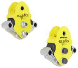 Equa-Flex Cushioned Equalizers w/ Never Fail Bushings - Double Eye Springs - Tandem Axle - 4K to 6K