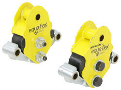 Equa-Flex Cushioned Equalizers - Double Eye Springs - Tandem Axle - 3K to 6K