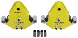Equa-Flex Cushioned Equalizers w/ Never Fail Bushings - Double Eye Springs - Tandem Axle - 6K to 8K
