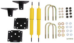 "Lippert Components Bolt-On Shock Kit w/ Heavy Duty Gas Shocks - 5,200-lb to 7,000-lb (3"") Axle"