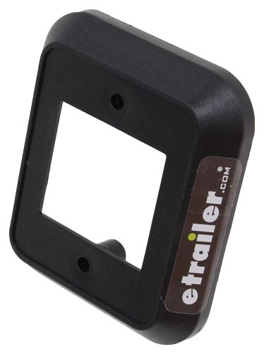 Solera Power Awning Bezel Spacer Black Lippert Components