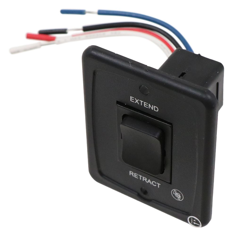 Solera Power Awning Switch Kit, Black Lippert Components Accessories and  Parts LC285500