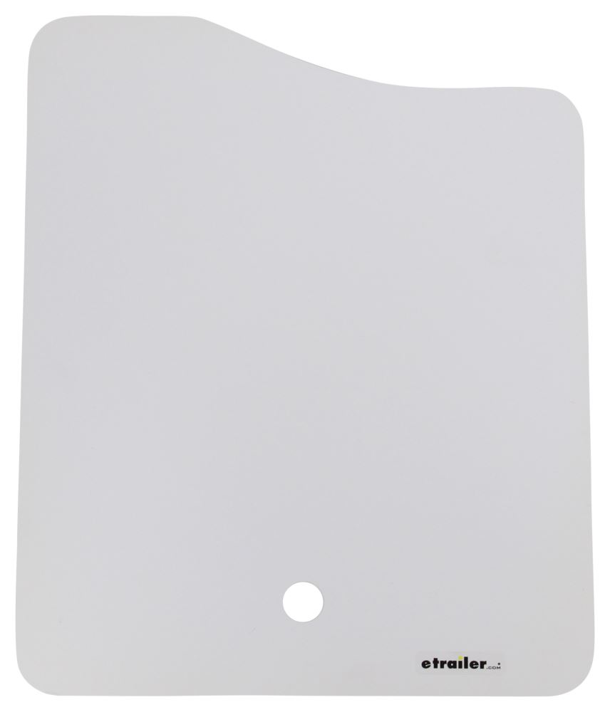 """Sink Cover for Better Bath RV Kitchen Sink - 16"""" Long x 13"""" Wide - White 16L x 13W Inch LC306198"""
