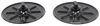 "Lippert Components 5th Wheel RV Landing Gear Foot Pad - 9"" Round Jack Foot LC314667"
