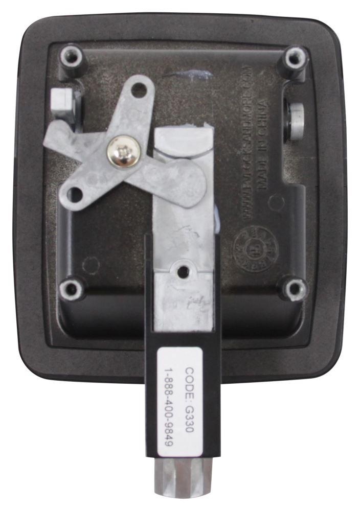 Lippert Components Standard Baggage Door Latch Kit Black