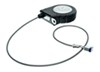 ToyLok Toolbox Mounted Retractable Cable Lock - 15' Cable - Nylon Case Steel LC337120-337117
