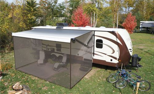 Solera Screen Room for 12' RV Awning Lippert Components ...