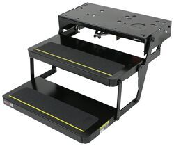 "Lippert Kwikee 32 Series Electric Step - 2 Steps - 7"" Drop/Rise - 24"" Wide - 300 lbs"
