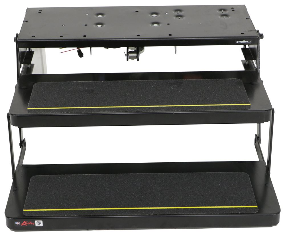 Lippert kwikee 34 series electric step 2 steps 7 drop for Motorized rv entry steps
