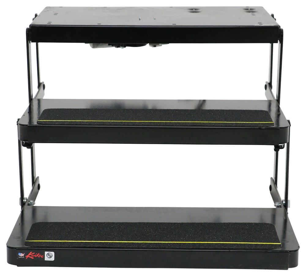 Lippert kwikee 40 series electric step 2 steps 8 drop for Motorized rv entry steps
