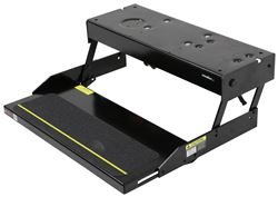 "Lippert Kwikee 28 Series Electric Step - 1 Step - 7"" Drop/Rise - 23-3/4"" Wide - 300 lbs"