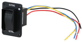replacement electric jack switch with harness for lippert. Black Bedroom Furniture Sets. Home Design Ideas