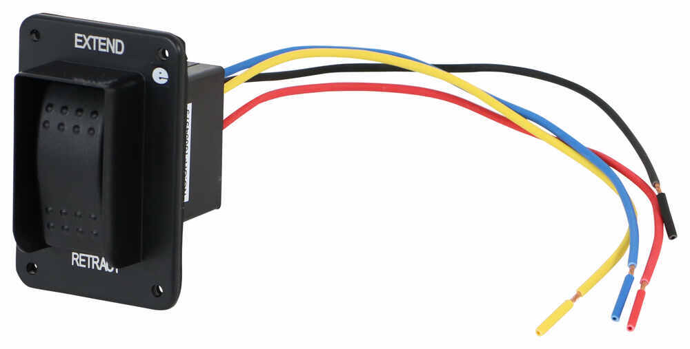 replacement electric jack switch with harness for lippert components high  speed stabilizer jacks lippert components accessories and parts lc387874