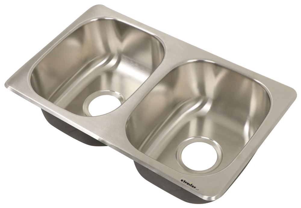 LC388414 - Stainless Steel Lippert Components Kitchen Sink