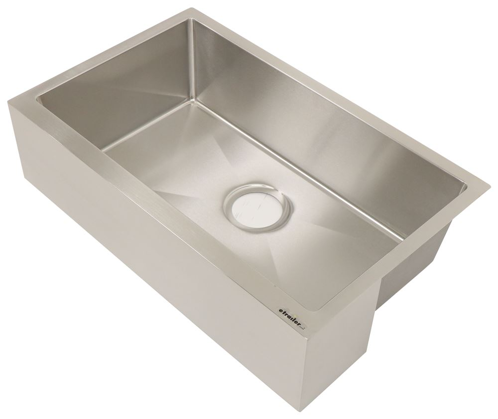 RV Sinks LC389910 - Farmhouse Sink - Lippert Components