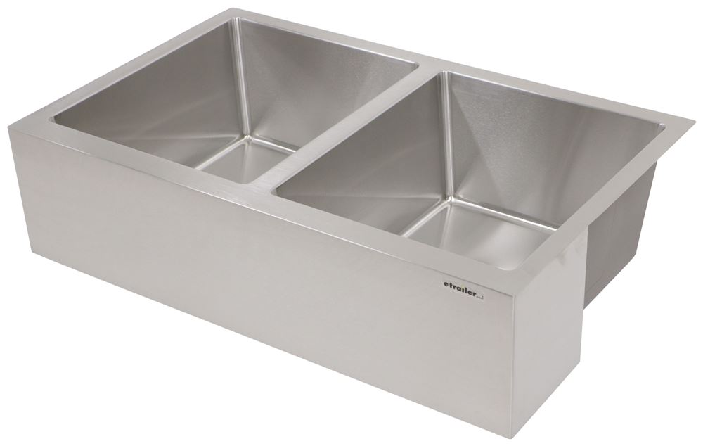 LC389911 - Double Sink Lippert Components Kitchen Sink