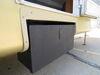 0  rv cargo lippert components bins solidstep locking storage box - powder coated steel 100 lbs